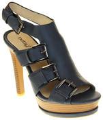 Womens Ladies Platform Heeled Strappy Fashion Sandals High Heel Shoes Thumbnail 7