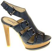 Womens Ladies Platform Heeled Strappy Fashion Sandals High Heel Shoes Thumbnail 8