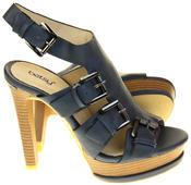Womens Ladies Platform Heeled Strappy Fashion Sandals High Heel Shoes Thumbnail 9