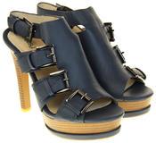 Womens Ladies Platform Heeled Strappy Fashion Sandals High Heel Shoes Thumbnail 10