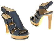 Womens Ladies Platform Heeled Strappy Fashion Sandals High Heel Shoes Thumbnail 11