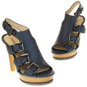 Womens Ladies Platform Heeled Strappy Fashion Sandals High Heel Shoes Thumbnail 12