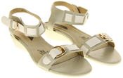 Womens Ladies Elisabeth Leather Flat Strappy Fashion Sandals Thumbnail 11