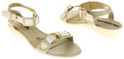 Womens Ladies Elisabeth Leather Flat Strappy Fashion Sandals Thumbnail 12