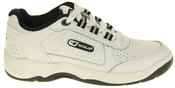 Boys Gola Black White Leather Belmont Active Trainers Infant Thumbnail 9