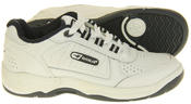 Boys Gola Black White Leather Belmont Active Trainers Infant Thumbnail 10