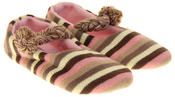 Womens Ladies Kumfipumps Stripe Knitted Mary-Janes Comfort Slippers Thumbnail 10