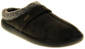 Mens Coolers Synthetic Fur Mule Indoor Comfy Slippers Thumbnail 2