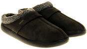 Mens Coolers Synthetic Fur Mule Indoor Comfy Slippers Thumbnail 4