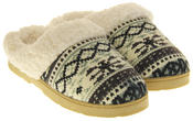 Womens Ladies Dr Keller Winter Synthetic Fur Warm Comfort Mule Slippers Thumbnail 5