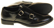 Womens Ladies Keddo Leather Double Buckle Formal Office Work Monk Shoes Thumbnail 9