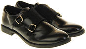 Womens Ladies Keddo Leather Double Buckle Formal Office Work Monk Shoes Thumbnail 10