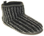 Mens Dunlop Warm Fuax Fur Lined Boot Slippers Thumbnail 7