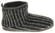Mens Dunlop Warm Fuax Fur Lined Boot Slippers Thumbnail 8