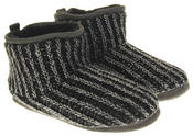 Mens Dunlop Warm Fuax Fur Lined Boot Slippers Thumbnail 10