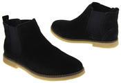 Womens Ladies Keddo Genuine Suede Elasticated Ankle Boots Thumbnail 12