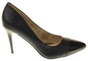 Womens Ladies Elisabeth Stilleto Court Shoes Thumbnail 3