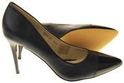 Womens Ladies Elisabeth Stilleto Court Shoes Thumbnail 4
