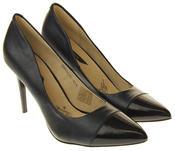 Womens Ladies Elisabeth Stilleto Court Shoes Thumbnail 5