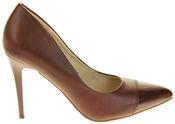 Womens Ladies Elisabeth Stilleto Court Shoes Thumbnail 8