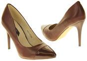 Womens Ladies Elisabeth Stilleto Court Shoes Thumbnail 11
