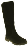 Womens 878138/02 Faux Leather Wool Lined Boots Thumbnail 2