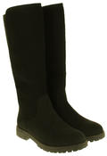 Womens 878138/02 Faux Leather Wool Lined Boots Thumbnail 5