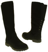 Womens 878138/02 Faux Leather Wool Lined Boots Thumbnail 6