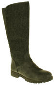 Womens 878138/02 Faux Leather Wool Lined Boots Thumbnail 7