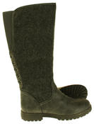 Womens 878138/02 Faux Leather Wool Lined Boots Thumbnail 9