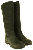 Womens 878138/02 Faux Leather Wool Lined Boots Thumbnail 10