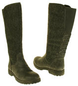 Womens 878138/02 Faux Leather Wool Lined Boots Thumbnail 11