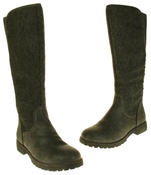 Womens 878138/02 Faux Leather Wool Lined Boots Thumbnail 12