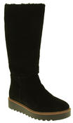 Womens 878175/10 Suede Leather Wool Lined Boots Thumbnail 2
