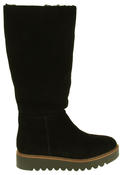 Womens 878175/10 Suede Leather Wool Lined Boots Thumbnail 3