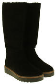 Womens 878175/10 Suede Leather Wool Lined Boots Thumbnail 5