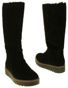 Womens 878175/10 Suede Leather Wool Lined Boots Thumbnail 6