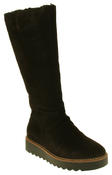 Womens 878175/10 Suede Leather Wool Lined Boots Thumbnail 7