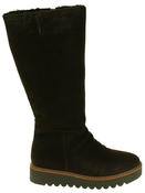 Womens 878175/10 Suede Leather Wool Lined Boots Thumbnail 8