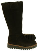 Womens 878175/10 Suede Leather Wool Lined Boots Thumbnail 9