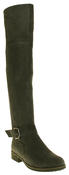 Womens Ladies Genuine Suede Tall Warm Above The Knee Boots With Zip Thumbnail 7