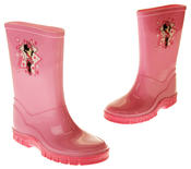 Girls Disney Minnie Mouse Waterproof Comfy Pink Wellies Wellington Boots Thumbnail 6