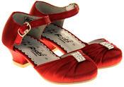 Girls RSB London Low Heel Wedding Shoe Diamente Feature Bridal Formal Court Shoes Thumbnail 10
