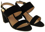 Womens Ladies Dorothy Perkins High Heeled Synthetic Suede Court Shoes Thumbnail 5