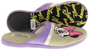 Womens Ladies DeFonseca Disney Minnie Mouse Novelty Mule Slippers Thumbnail 5