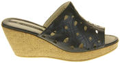 Womens Elisabeth Wedged Sandals Summer Shoes Thumbnail 8