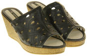Womens Elisabeth Wedged Sandals Summer Shoes Thumbnail 10