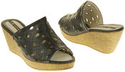 Womens Elisabeth Wedged Sandals Summer Shoes Thumbnail 11