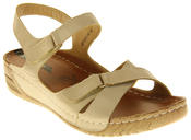 Womens Ladies Elisabeth Wedge Sandals Thumbnail 2