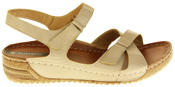 Womens Ladies Elisabeth Wedge Sandals Thumbnail 3